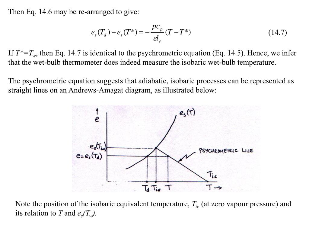 Then Eq. 14.6 may be re-arranged to give: