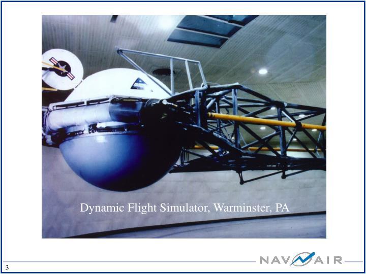 Dynamic Flight Simulator, Warminster, PA