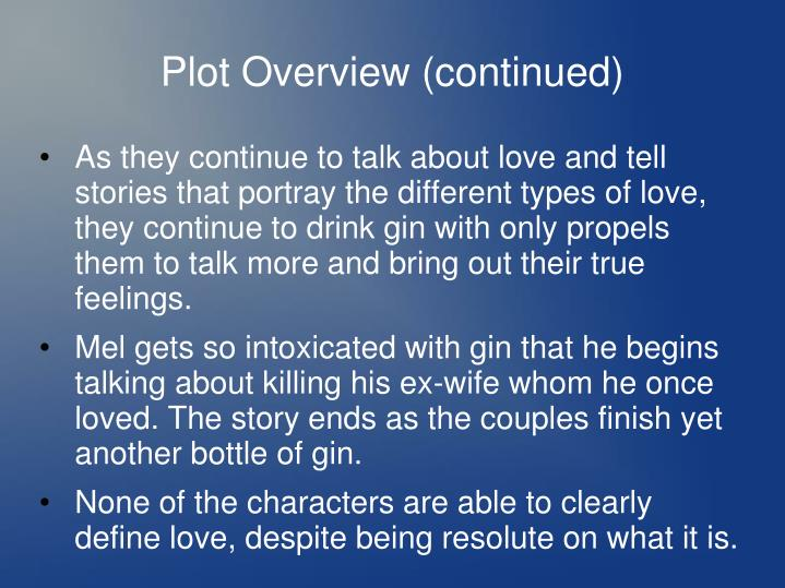 Plot Overview (continued)