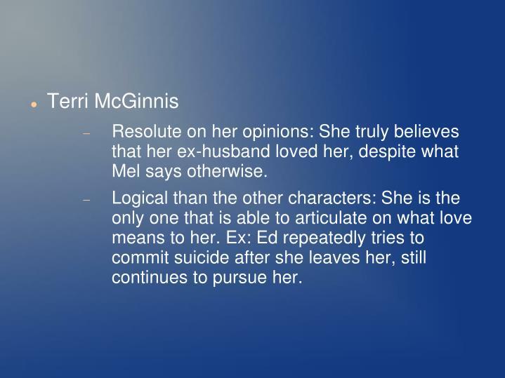 Terri McGinnis