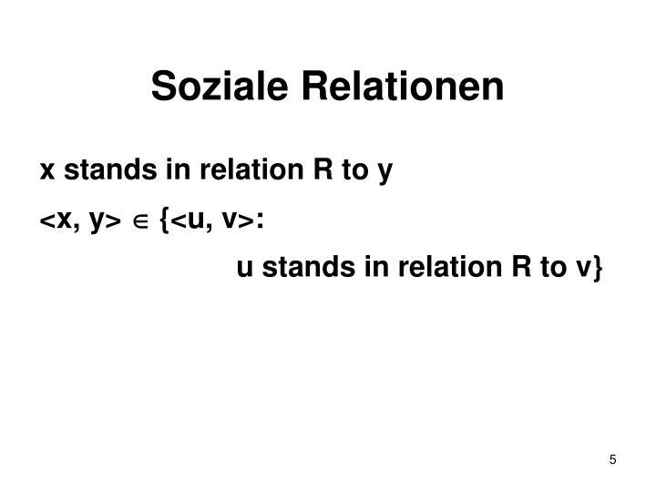 Soziale Relationen