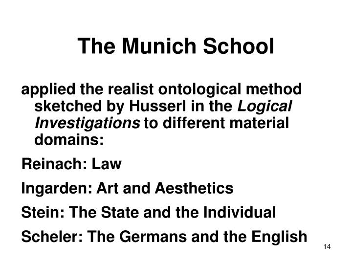 The Munich School