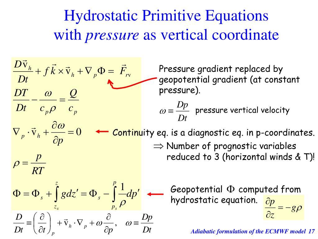 Hydrostatic Primitive Equations