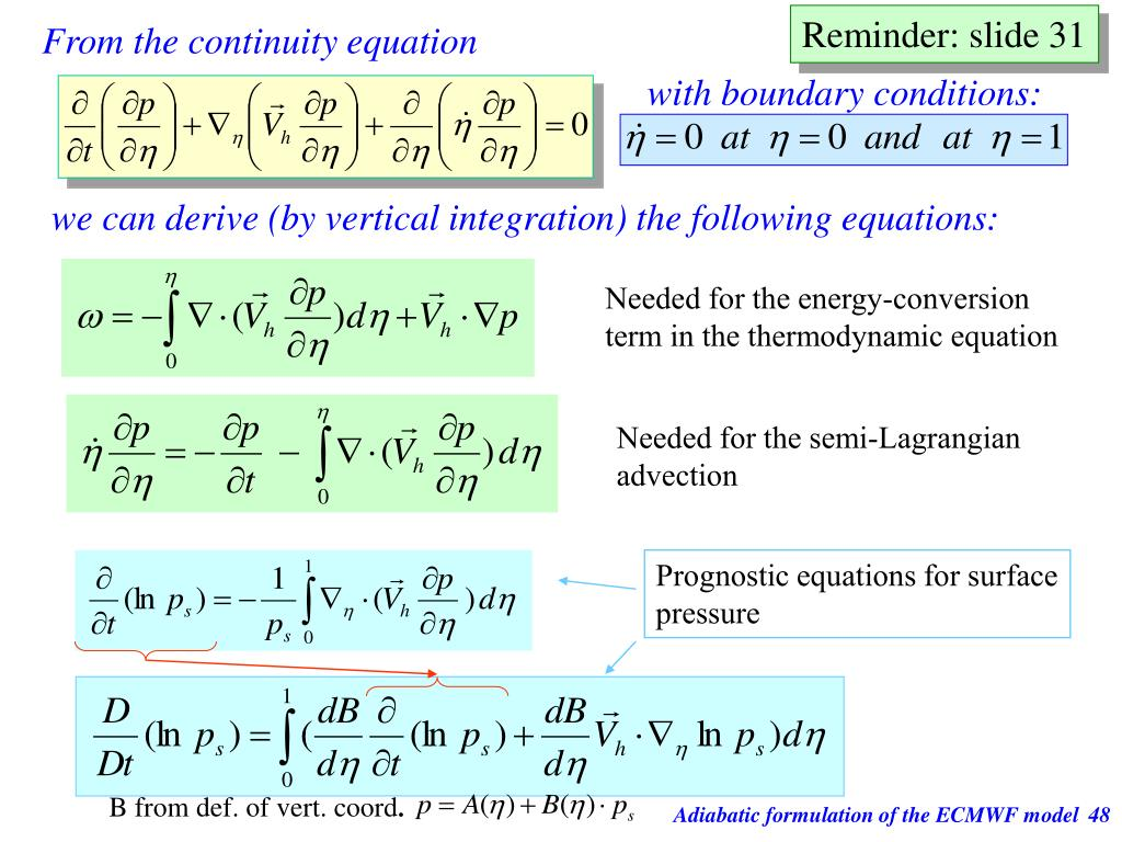 with boundary conditions: