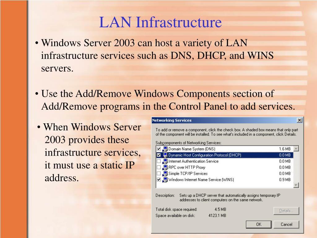 LAN Infrastructure