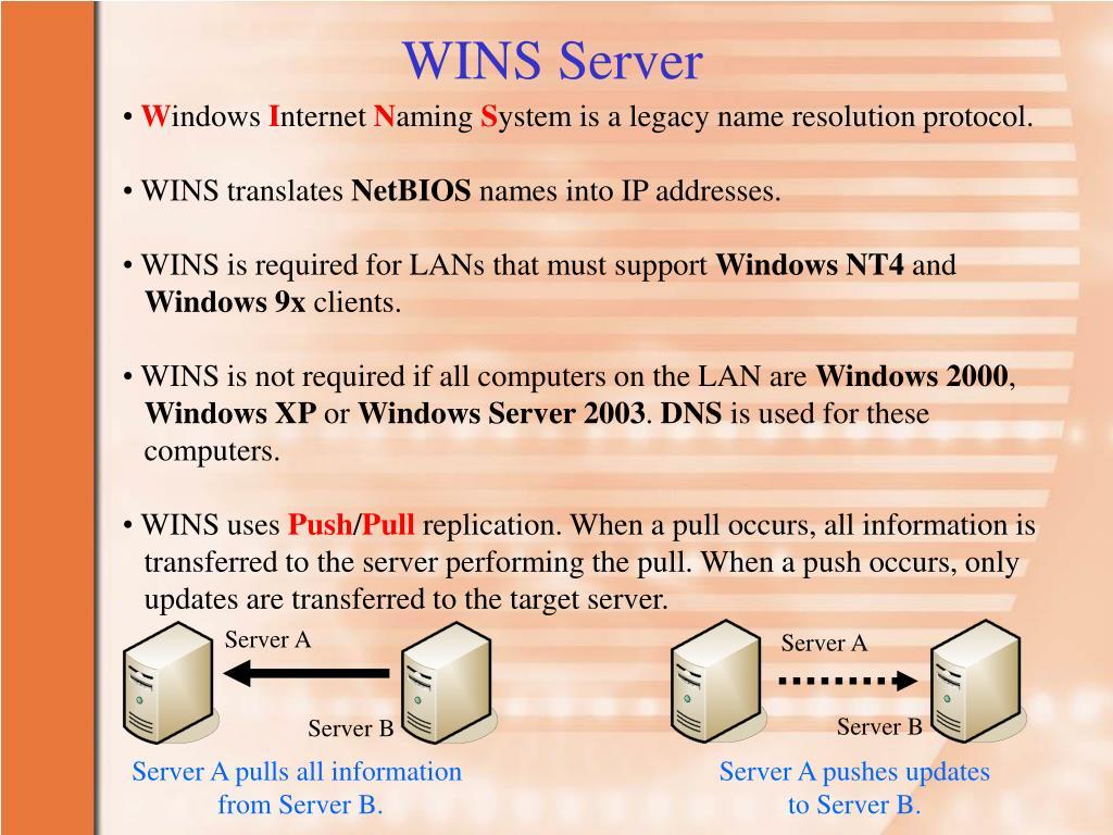 WINS Server