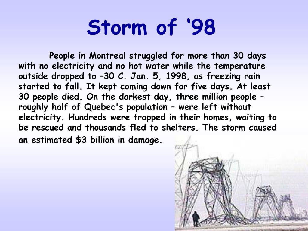 Storm of '98