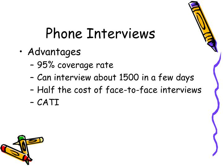 Phone Interviews