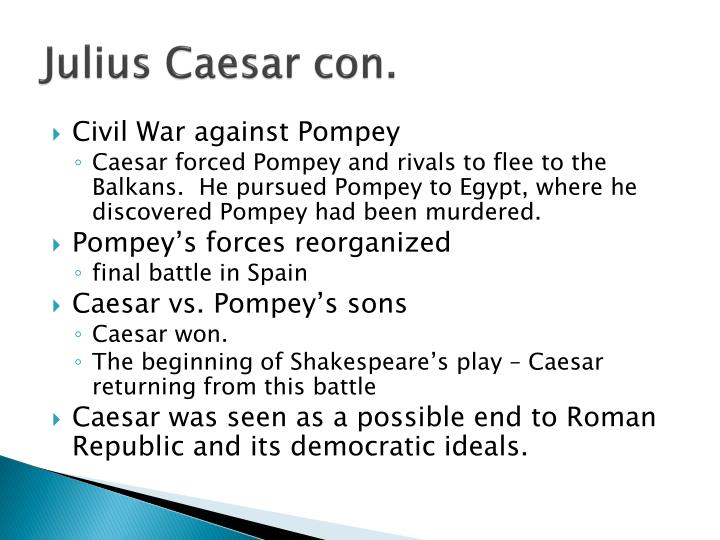 julius caesar the epitome of strength and leadership Brutus is the most complex of the characters in this play he is proud of his reputation for honor and nobleness gaius julius caesar the epitome of strength and leadership.
