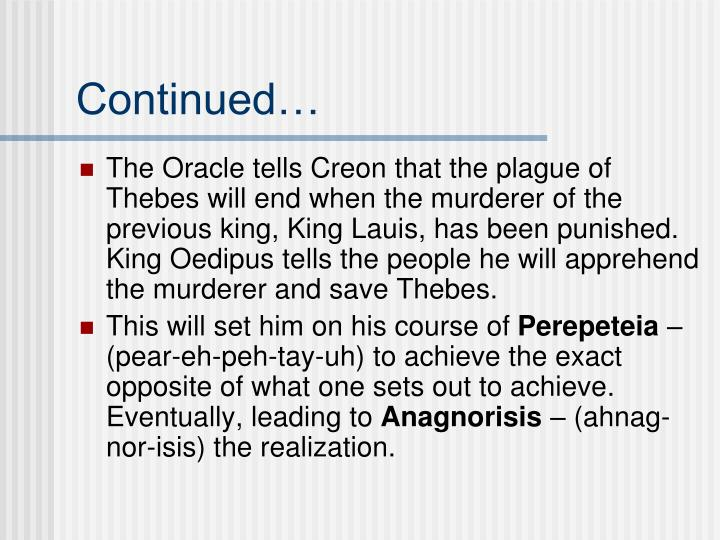 a comparison of oedipus and creon as complete opposite individuals The catalogue of women  is used to jump backwards in order to complete the account of the  nicippe and sthenelus' daughter astymedusa married oedipus,.