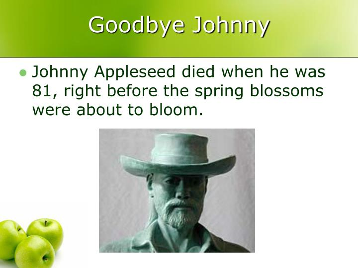 Goodbye Johnny