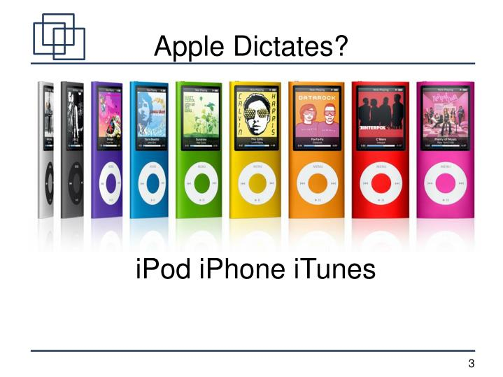 Apple Dictates?