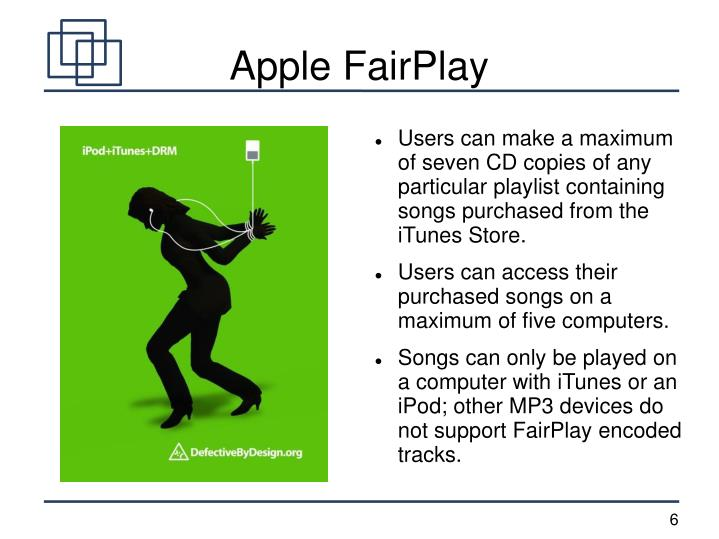 Apple FairPlay