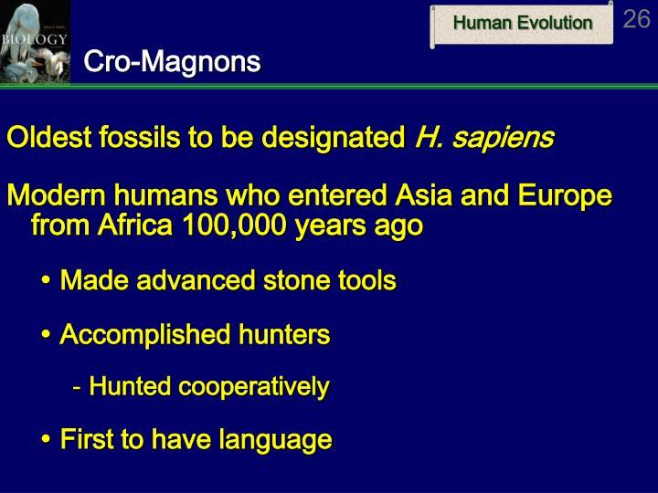 Cro-Magnons