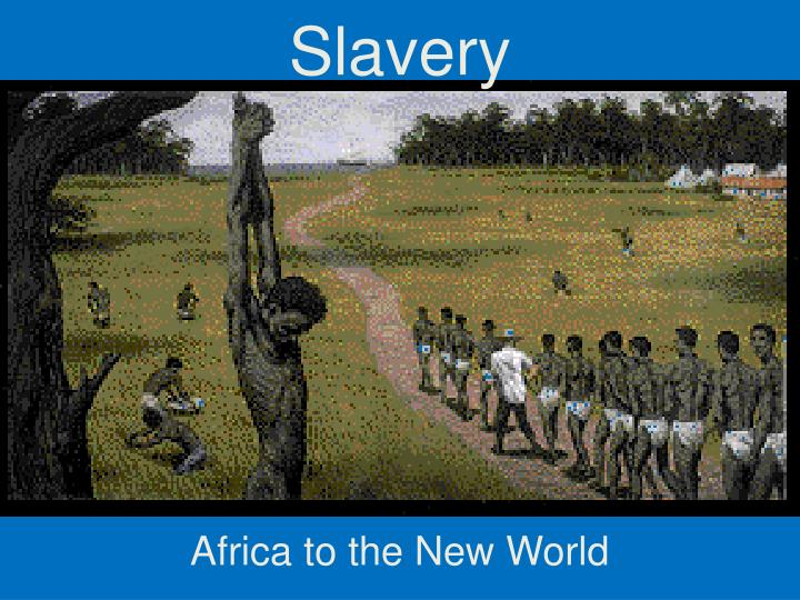 early african americans slavery impacts essay