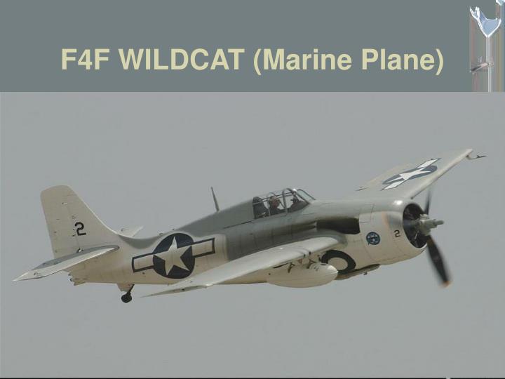 F4F WILDCAT (Marine Plane)
