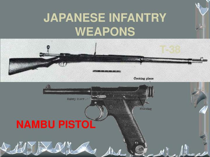 JAPANESE INFANTRY WEAPONS