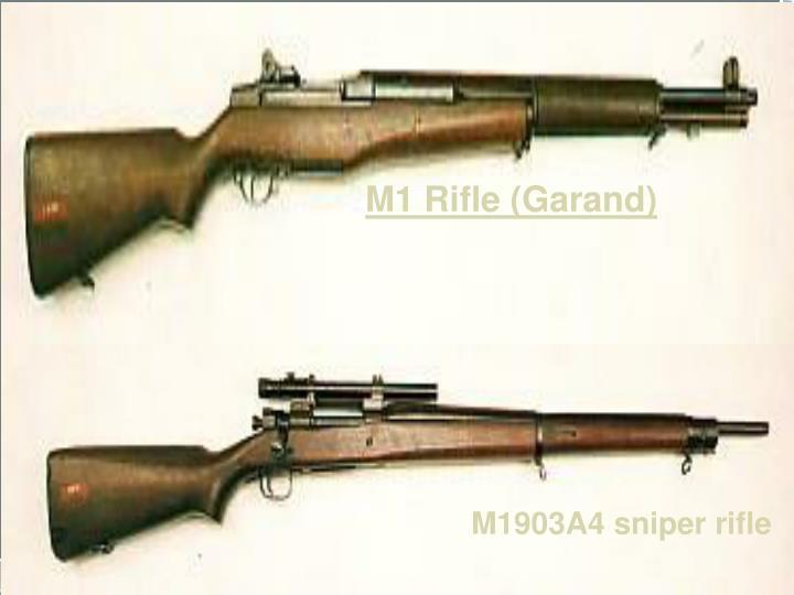 M1 Rifle (Garand)