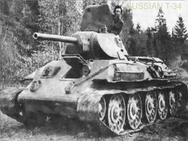 RUSSIAN T-34