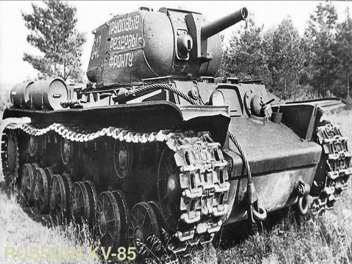 RUSSIAN KV-85