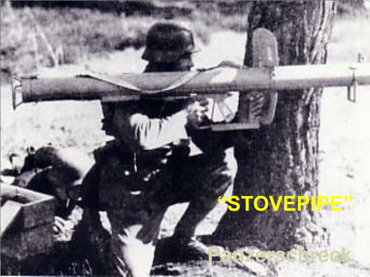 """STOVEPIPE"""