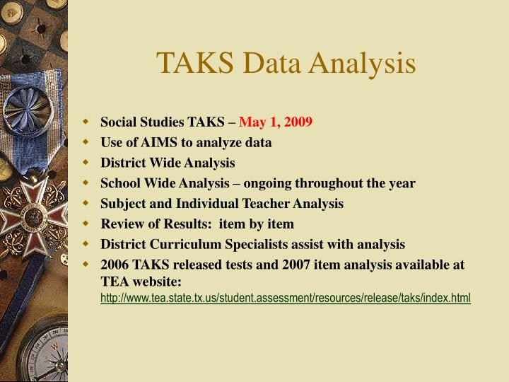 TAKS Data Analysis