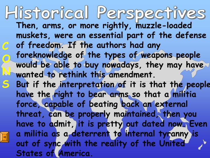 Historical Perspectives