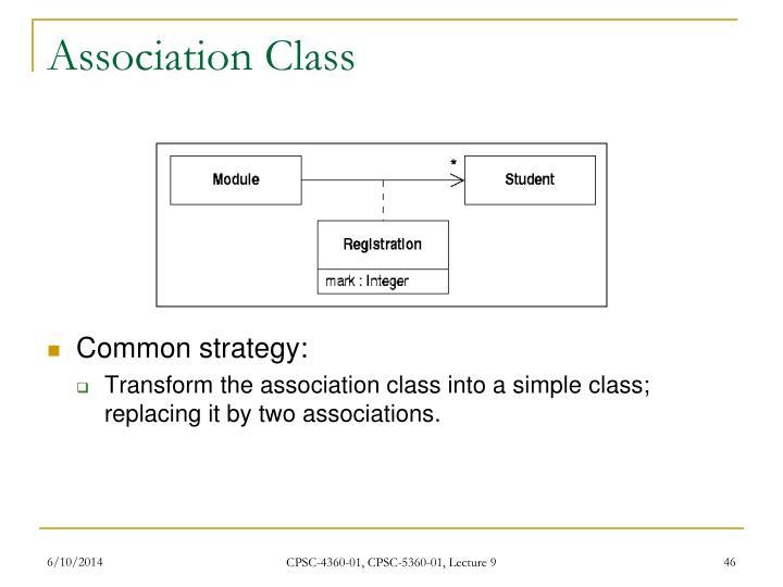 Association Class