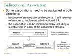 bidirectional association