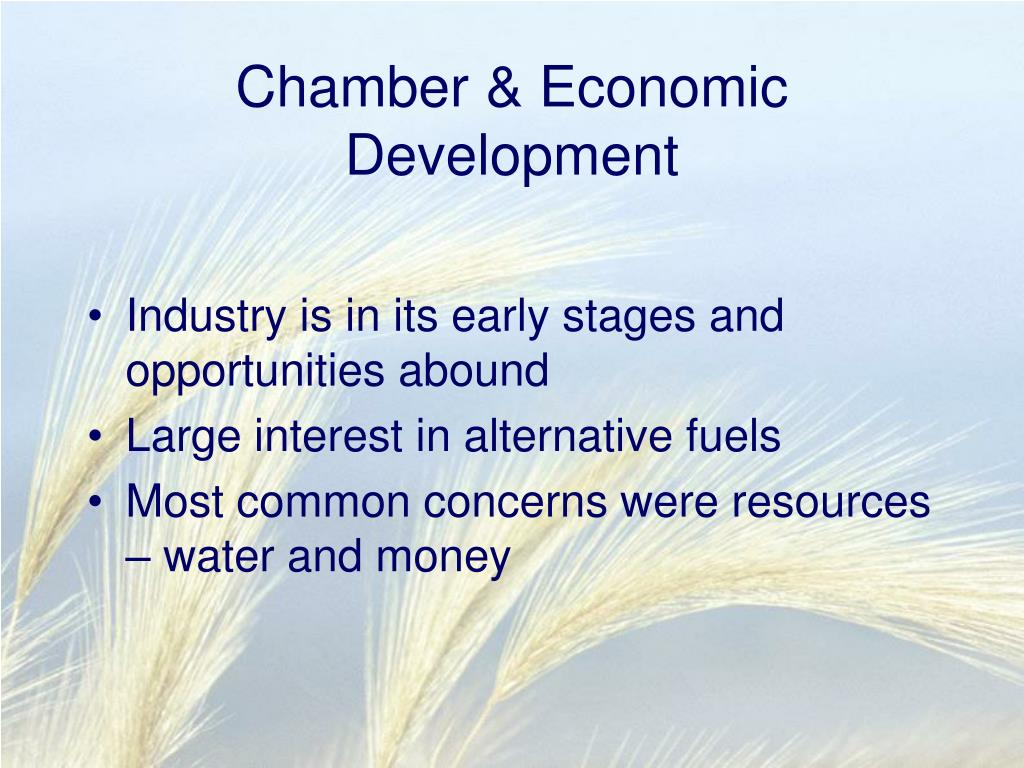 Chamber & Economic Development