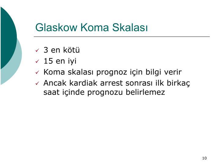 Glaskow Koma Skalası