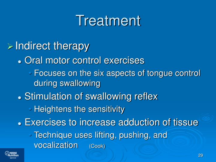 Ppt dysphagia nutrition and hydration management for Oral motor exercises for dysphagia
