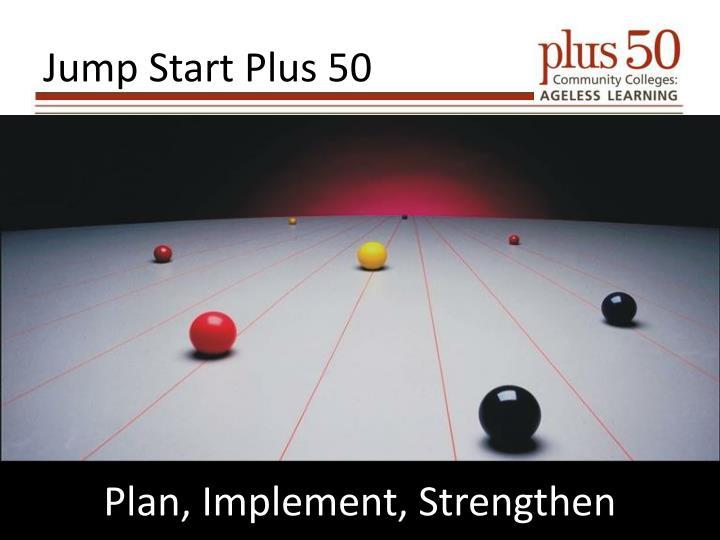 Jump Start Plus 50
