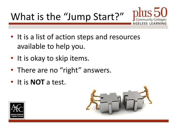 "What is the ""Jump Start?"""