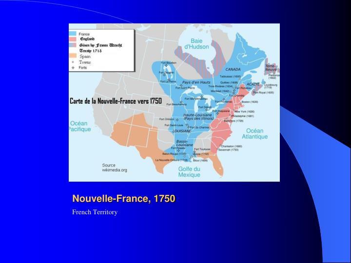 Nouvelle-France, 1750