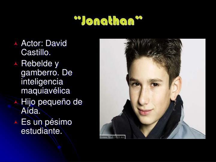 """""""Jonathan"""""""
