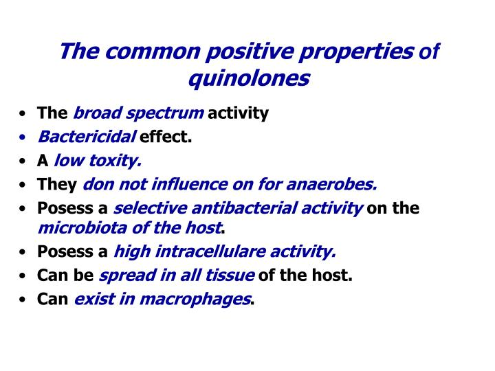 The common positive properties