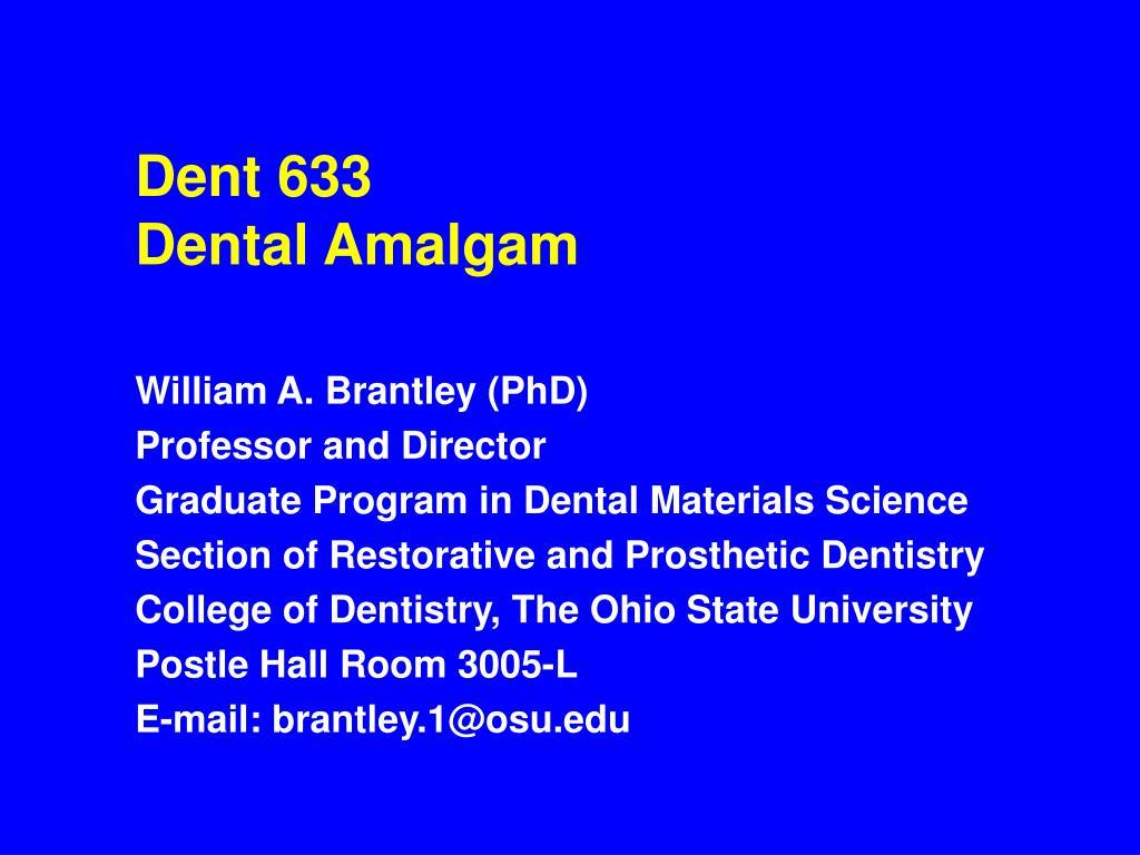 Dent 633