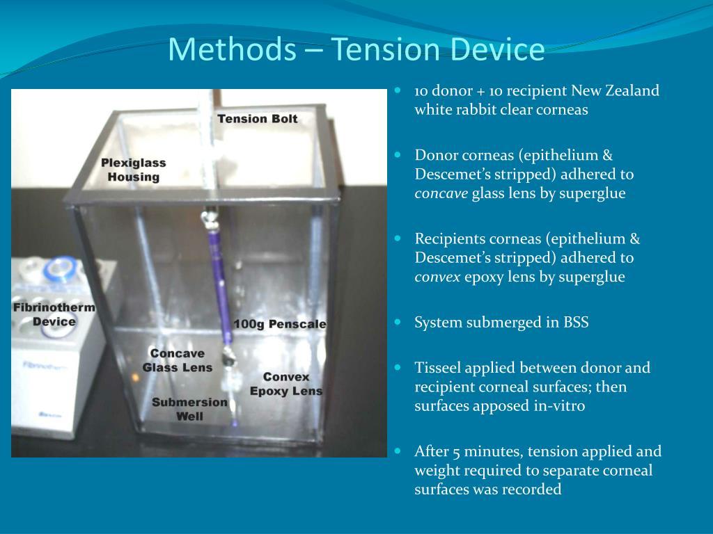 Methods – Tension Device