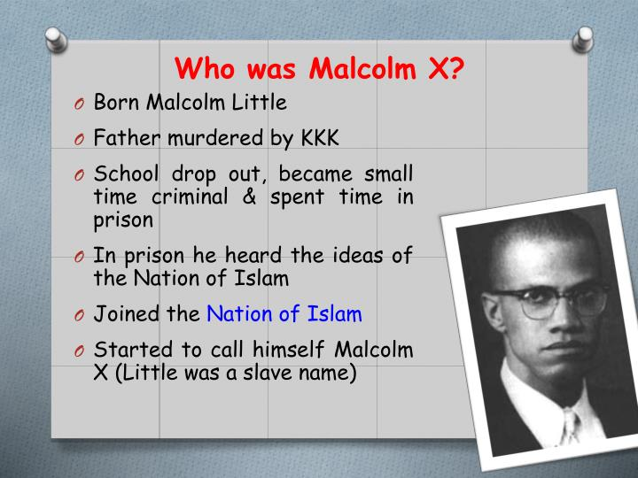 Who was malcolm x