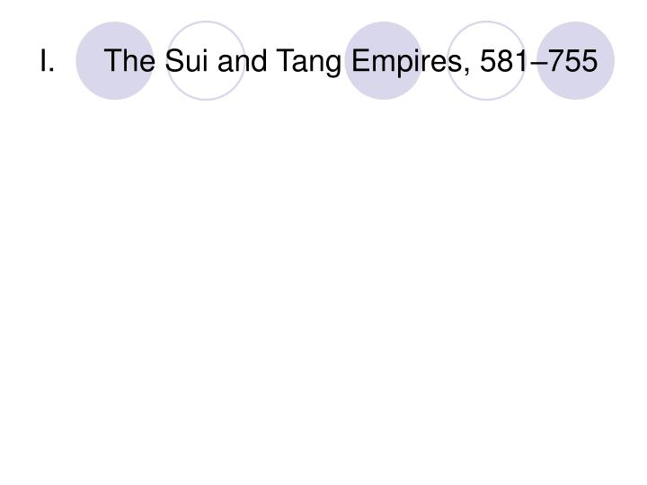 the sui and tang empires