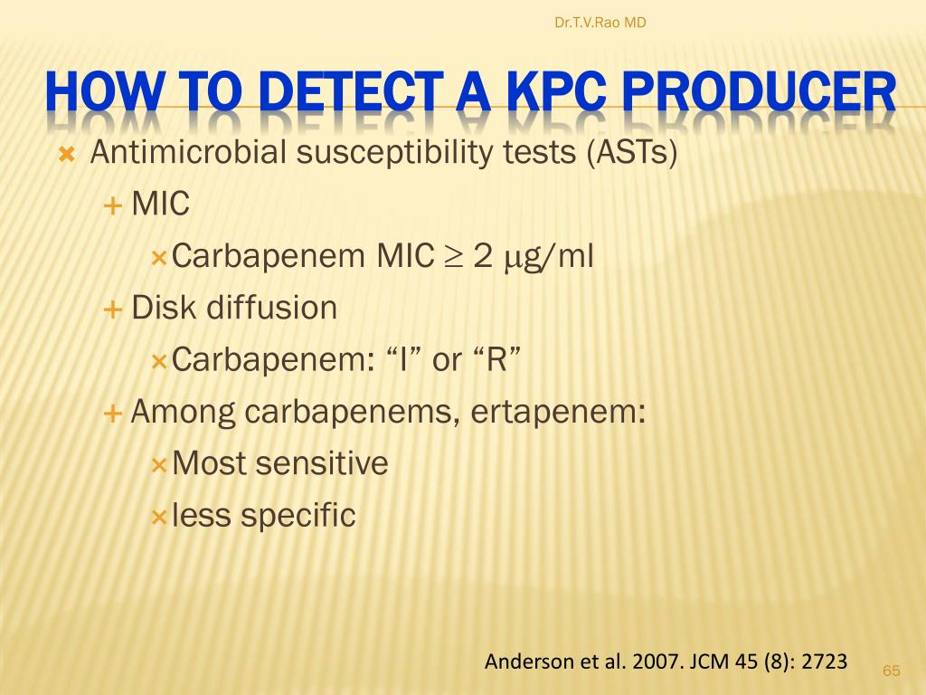 Antimicrobial susceptibility tests (ASTs)