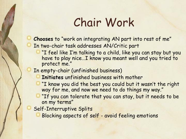 Chair Work
