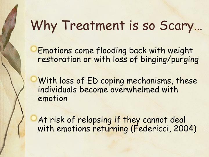 Why Treatment is so Scary…
