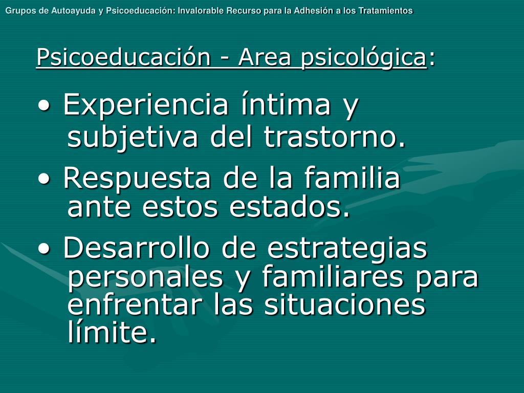 Grupos de Autoayuda y Psicoeducación: Invalorable Recurso para la Adhesión a los Tratamientos