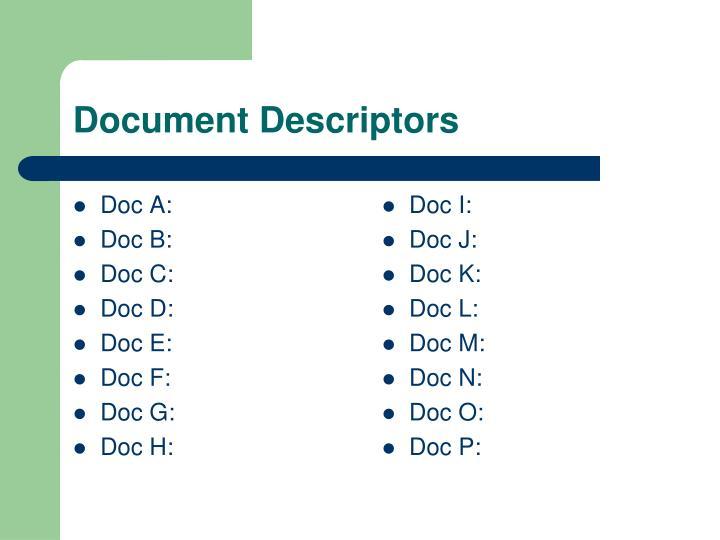 Doc A: