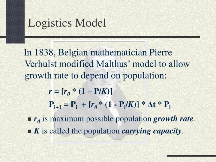 Logistics Model
