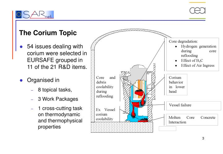 The corium topic