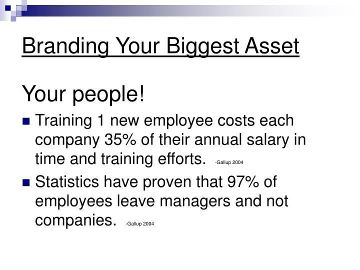 Branding Your Biggest Asset