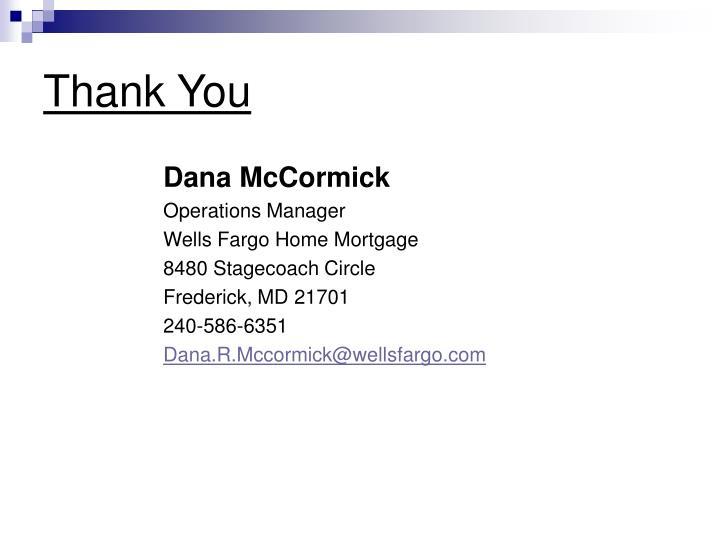 Dana McCormick